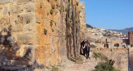 Alanya Kalesi'ne yürüyüş yolları yapılıyor