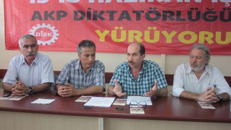 İzmir halkına 15-16 Haziran çağrısı