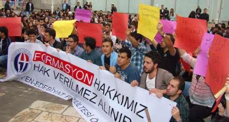 Öğretmenlik hakkı için dersleri boykot ettiler