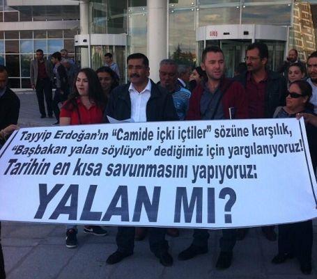 Yalan mı Erdoğan?