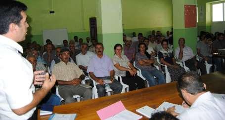 Pertek Belediyesi halk toplantısı yaptı