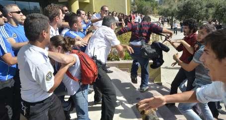 Formasyon mağduru öğrencilere güvenlik şiddeti