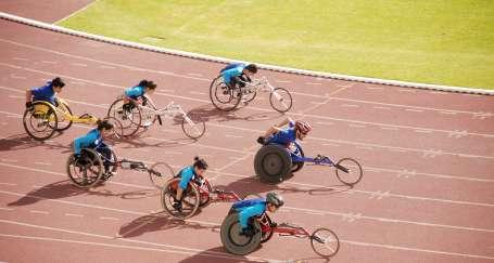 Engellere takılmadan spora devam
