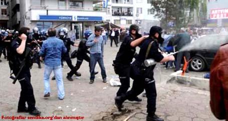 AKP protestosuna ölüm cezası