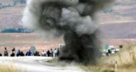 Şemdinli'de askeri konvoyun geçişi sırasında patlama
