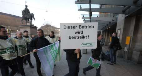 Almanya'da makinistlerin grevi etkili oldu