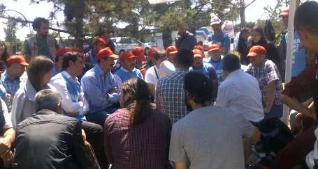 TOGO işçileriyle ODTÜ'lü dayanışma