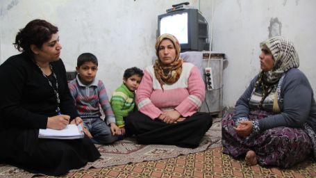 Antep'in yoksul sokaklarında Suriyeli Mülteciler