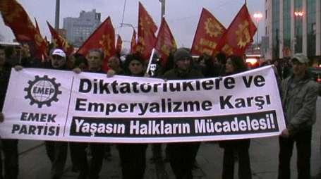 EMEP: Dış müdahaleyle demokrasi gelmez