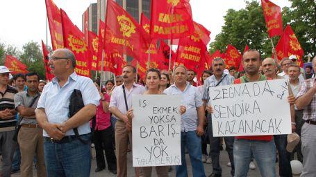 Emek Partisi'nden THY işçilerine destek
