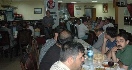 Diyarbakır'da Hayat'la dayanışma yemeği