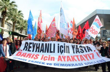 Reyhanlı katliamı her yerde protesto edildi