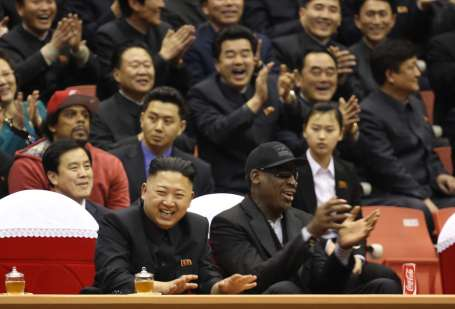 Rodman barış istiyor ama...