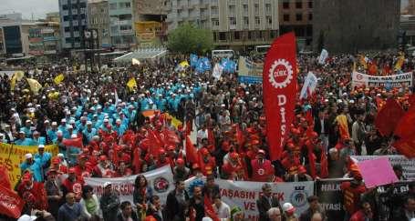 Ulusal ve sınıfsal sömürüye karşı 1 Mayıs'a