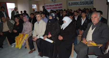 Türk ve Kürt işçilerin sesi Meclis'te olsun!