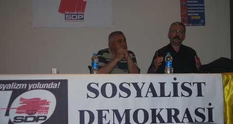 Turan, Kocaeli'de partililerle buluştu