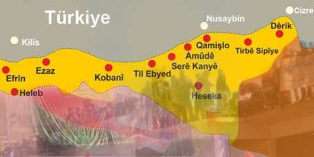 Time: Türk müdahalesi Suriye Kürtlerini birleştirir
