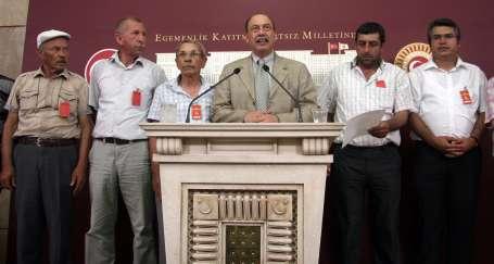Üretici köylüler talepleriyle Mecliste