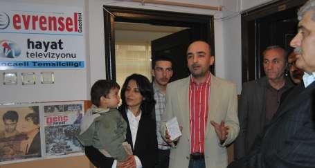 Hayat Televizyonu ve Evrensel'in Kocaeli bürosu açıldı