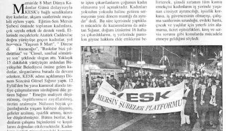 8 Mart tutuklamalarına ortak tepki