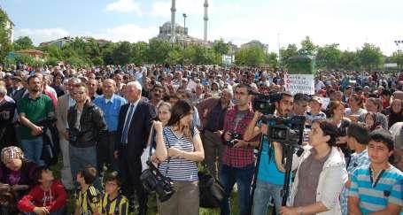 Alibeyköy yıkıma karşı ayakta