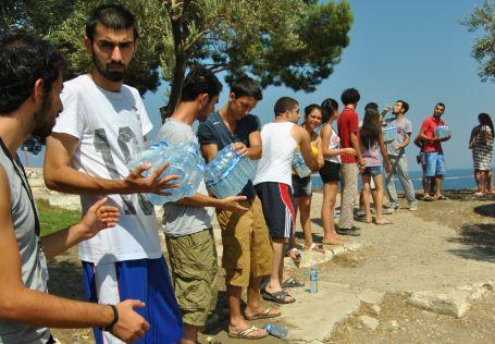 Gezi ruhu Dikili'de