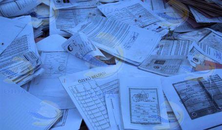Yardım bekleyen yoksulların evrakları çöpten çıktı!