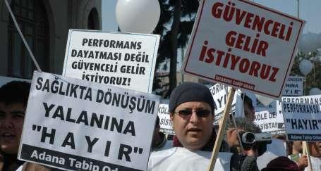 Sağlıkçılar greve hazır