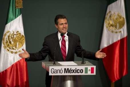 Meksika'da iktidar el değiştirdi