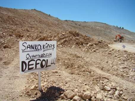 Köylülerin toprak mücadelesi sürüyor