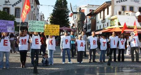 Zamlara ve zulme karşı 1 Mayıs'a