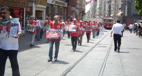 Mas-Daf işçilerinin yürüyen fotoğrafları