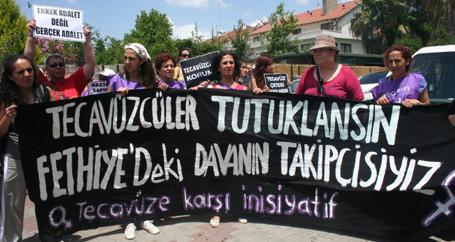 'Tecavüzcüler tutuklansın'