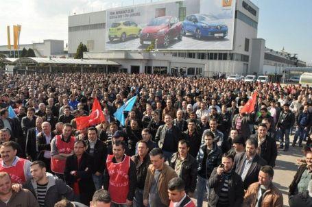 Neden Renault'da ciddi bir grev örgütlenmesi yok?