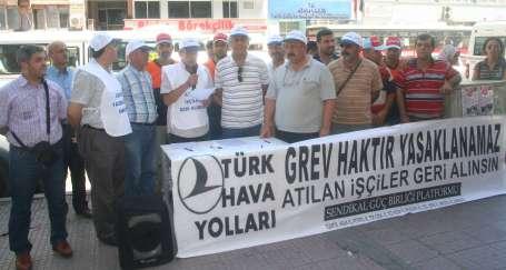 Adana'da grev yasağına karşı imza kampanyası