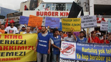 Ontex ve PTT işçileri eylemlere devam ediyor