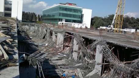Teknopark inşaatında çökme: 3 işçi yaralı