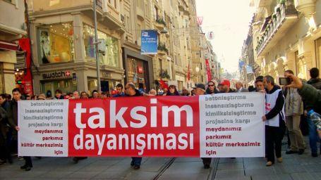 'Taksim dayanışması biziz'