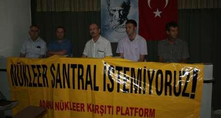 Nükleer karşıtları Akkuyu'da olacak