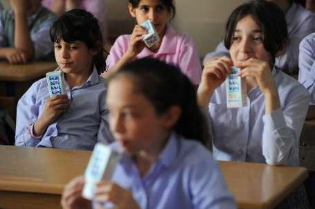 Süte erişimde esaret; Okul Sütü Projesi