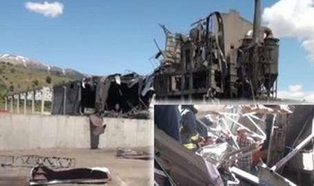 Fabrikada patlama: 4 ölü 9 yaralı