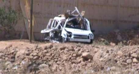 Derik'te polis aracına saldırı