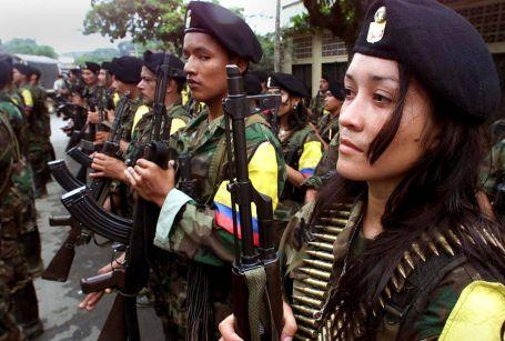 Kolombiya halkı barışı hiç tanımıyor