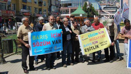 HDK İzmit Meclisi'nden çözüm için kampanya