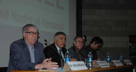 İstanbul'da Zazaca yazı dili konuşuldu