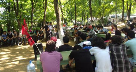 Kırşehir gençliği piknikte biraraya geldi