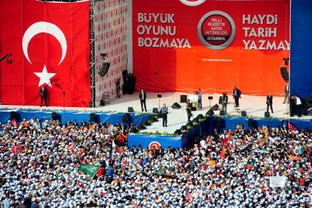 Başbakan Erdoğan'ın meydan savaşı!