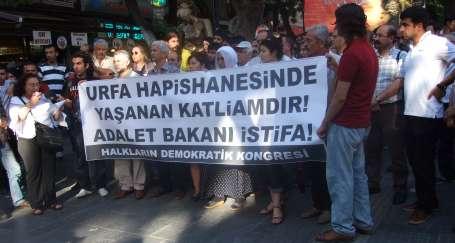 HDK: Adalet Bakanı derhal istifa etsin