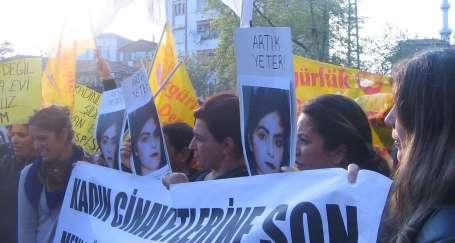 Tuzla'da kadın cinayetlerine tepki