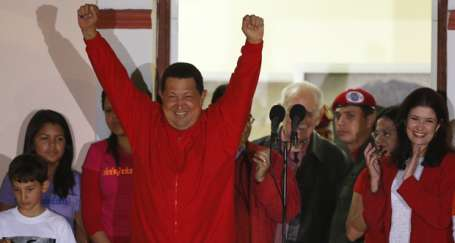 Venezuela'da zafer Chavez'in